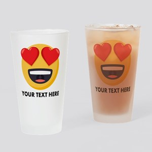 I Love You Personalized Drinking Glass
