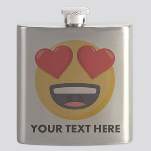 I Love You Personalized Flask