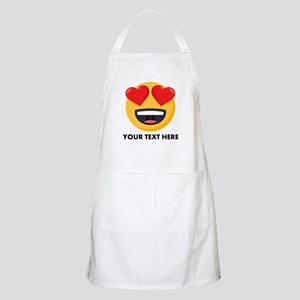 I Love You Personalized Light Apron
