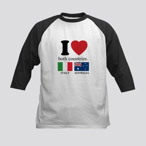 ITALY-AUSTRALIA Kids Baseball Jersey