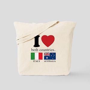 ITALY-AUSTRALIA Tote Bag
