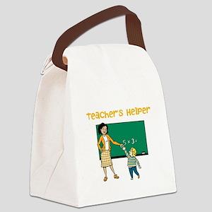 Teachers Helper Canvas Lunch Bag