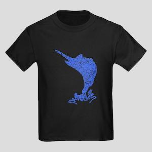 Distressed Blue Marlin T-Shirt