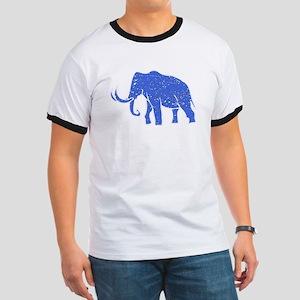 Distressed Blue Mammoth T-Shirt
