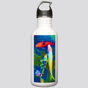 Blue Fish Stainless Water Bottle 1.0L
