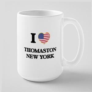 I love Thomaston New York Mugs