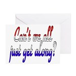 Can't we all... Greeting Cards (Pk of 10)