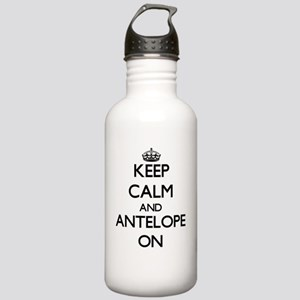 Keep Calm and Antelope Stainless Water Bottle 1.0L