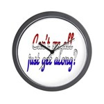 Can't we all... Wall Clock