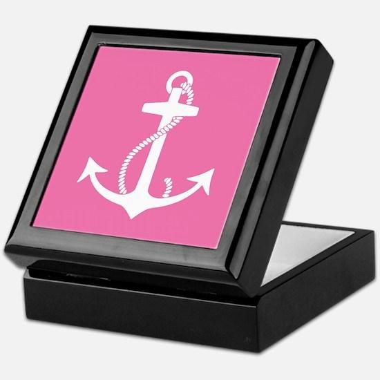 Unique Anchors Keepsake Box