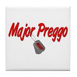 USAF Major Preggo Tile Coaster