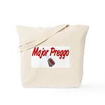 USAF Major Preggo  Tote Bag