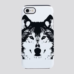Illustration Black Wolf iPhone 7 Tough Case