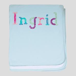 Ingrid Princess Balloons baby blanket