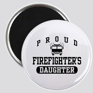 Proud Firefighter's Daughter Magnet
