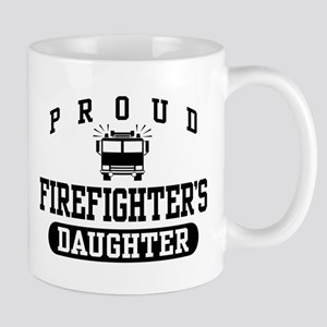 Proud Firefighter's Daughter Mug
