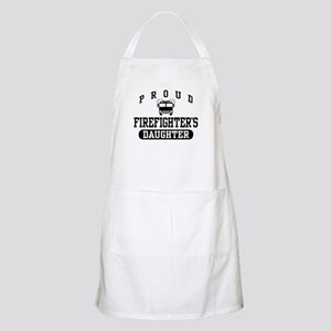 Proud Firefighter's Daughter BBQ Apron