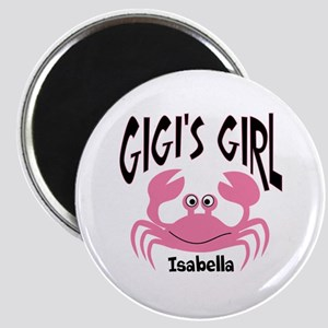"""Pink Crab Gigis Girl Person 2.25"""" Magnet (10 pack)"""