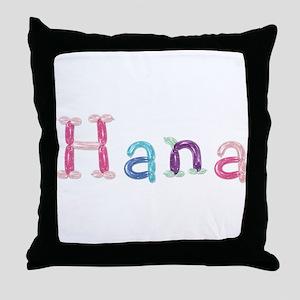 Hana Princess Balloons Throw Pillow