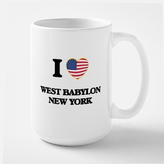 I love West Babylon New York Mugs