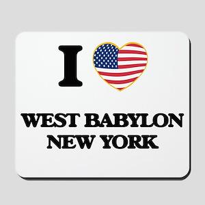 I love West Babylon New York Mousepad