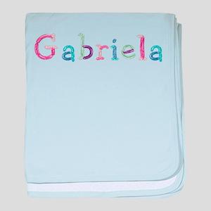 Gabriela Princess Balloons baby blanket