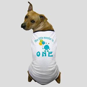 1st Monster Birthday Dog T-Shirt