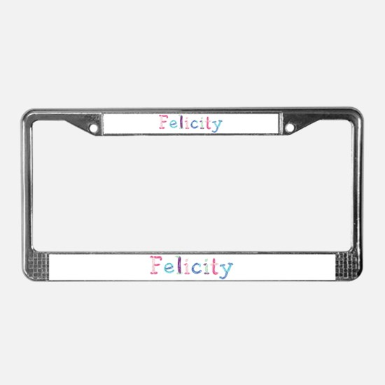 Felicity Princess Balloons License Plate Frame