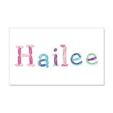 Hailee Princess Balloons 20x12 Wall Peel