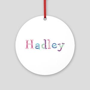 Hadley Princess Balloons Round Ornament