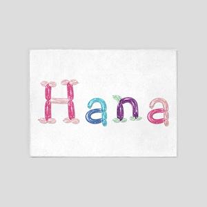 Hana Princess Balloons 5'x7' Area Rug