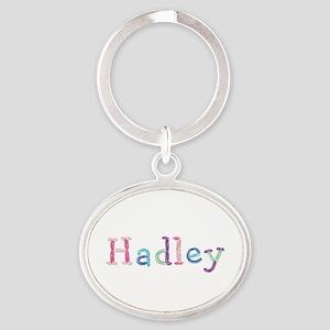 Hadley Princess Balloons Oval Keychain