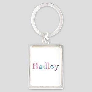 Hadley Princess Balloons Portrait Keychain