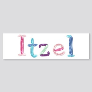 Itzel Princess Balloons Bumper Sticker
