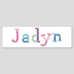 Jadyn Princess Balloons Bumper Sticker