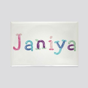 Janiya Princess Balloons Rectangle Magnet