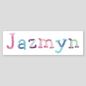 Jazmyn Princess Balloons Bumper Sticker