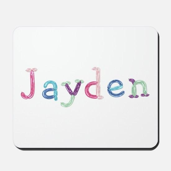 Jayden Princess Balloons Mousepad