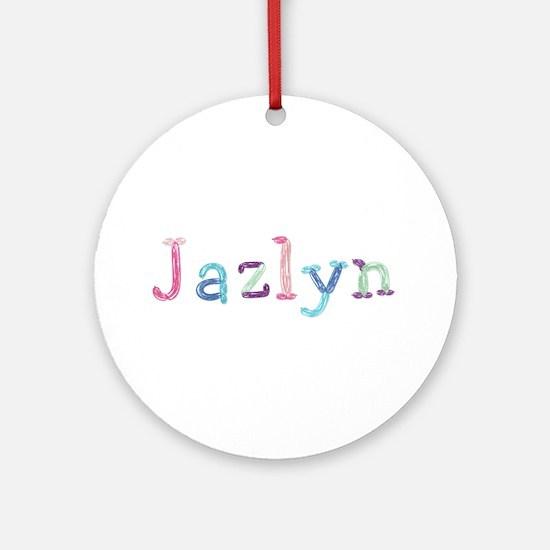 Jazlyn Princess Balloons Round Ornament