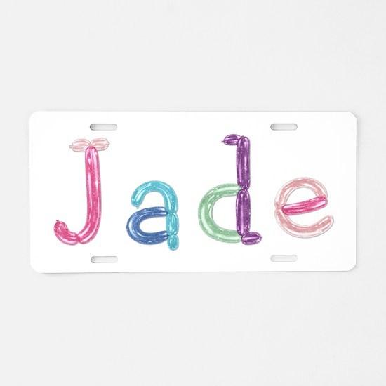 Jade Princess Balloons Aluminum License Plate