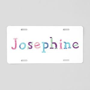 Josephine Princess Balloons Aluminum License Plate