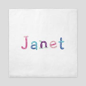 Janet Princess Balloons Queen Duvet