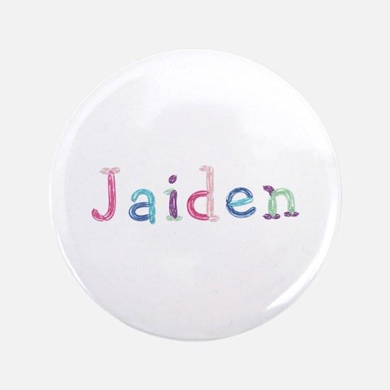 Jaiden Princess Balloons Big Button