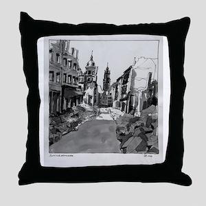 Schlossstrasse Throw Pillow