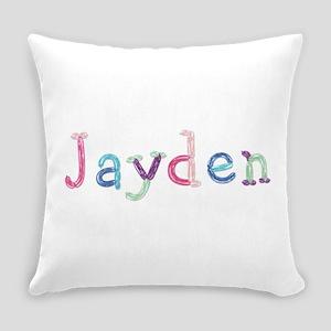 Jayden Princess Balloons Everyday Pillow
