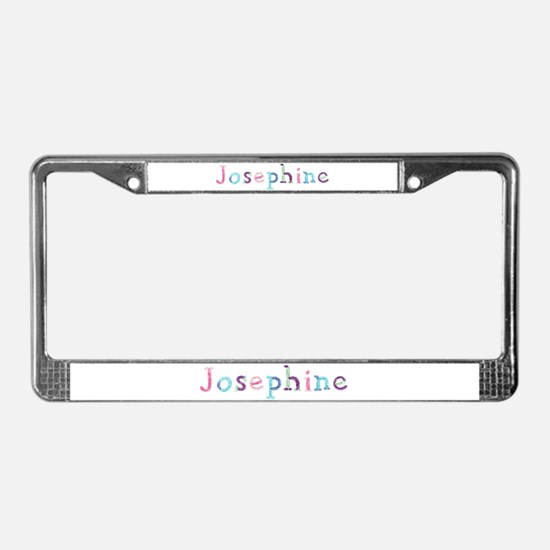 Josephine Princess Balloons License Plate Frame