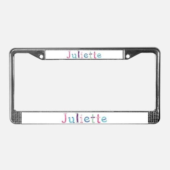 Juliette Princess Balloons License Plate Frame