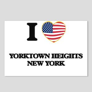 I love Yorktown Heights N Postcards (Package of 8)