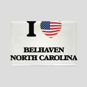 I love Belhaven North Carolina Magnets