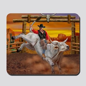Ride 'em Cowboy Mousepad
